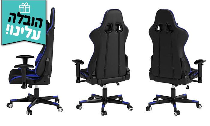 5 כיסא גיימינג ארגונומי מתכוונןCRYFOG במבחר צבעים - משלוח חינם