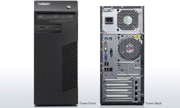 3 מחשב נייח מחודש לנובו Lenovo דגם M72e עם זיכרון 8GB ומעבד Pentium G850