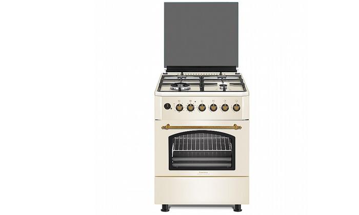 2 תנור 60 ליטר עם כיריים גז Peerless בעיצוב כפרי