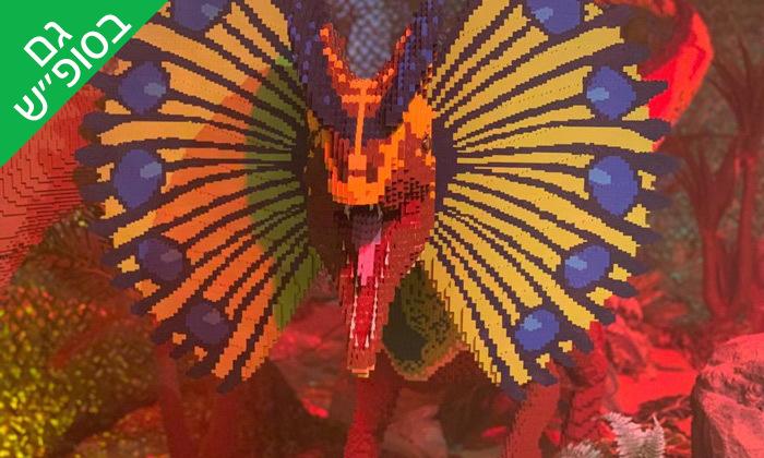 4 תערוכת ממלכת הדינוזאורים במוזיאון הלגו הבינלאומי, אילת