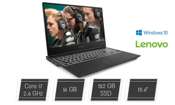 """2 מחשב נייד חדש Lenovo דגם LEGION Y540 עם מסך """"15.6, זיכרון 16GB ומעבד i7"""