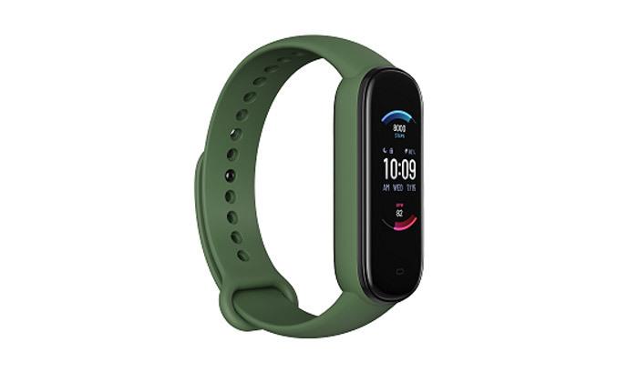 7 שעון כושר חכם Amazfit מסדרת Band 5 במבחר צבעים - משלוח חינם