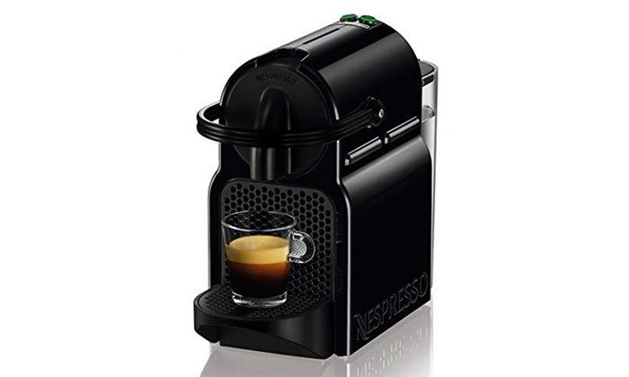 3 מכונת קפה Nespresso כולל 100 קפסולות פירלו מיקס ועוגיות חמאה