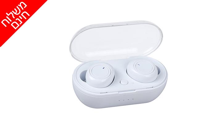 3 אוזניות אלחוטיות TWS במארז טעינה- משלוח חינם