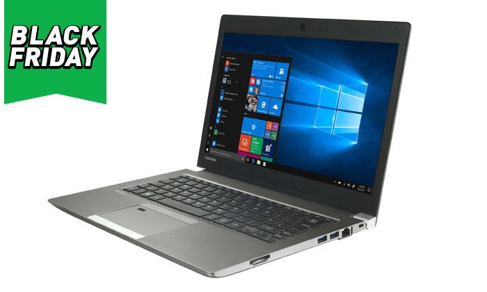 """4 מחשב נייד מחודש TOSHIBA דגם R634 מסדרתPortege עם מסך """"13.3, זיכרון 8GB ומעבד i5"""