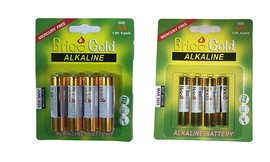 40 סוללות AA ו-40 סוללות AAA