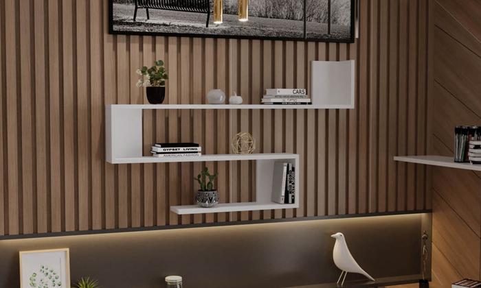 2 מדף קיר ראמוס עיצובים, דגם סנייק