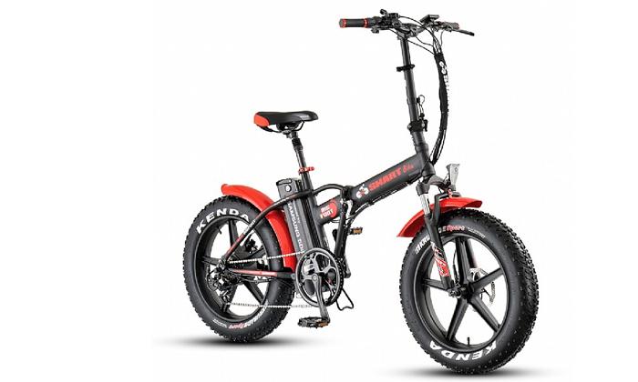 2 אופניים חשמליים Smart Bike דגם Big Foot Mag במבחר צבעים