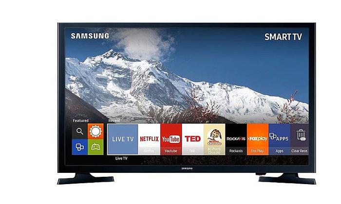 3 טלוויזיה חכמה SAMSUNG, מסך 43 אינץ'