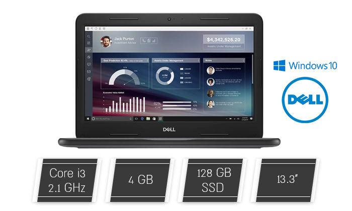 2 מחשב נייד DELL עם מסך 13.3 אינץ' - משלוח חינם