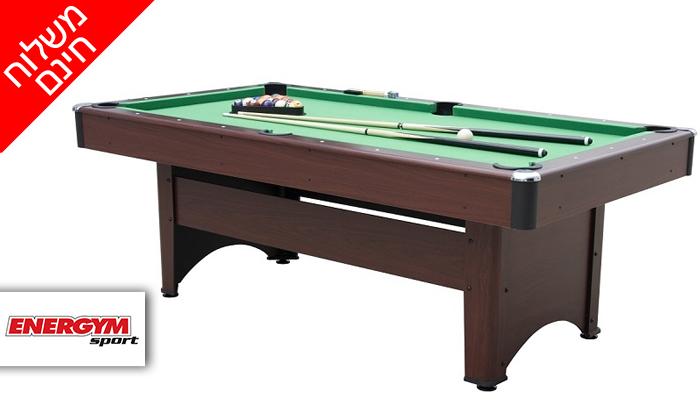 2 שולחן סנוקר ENERGYM sport - משלוח חינם