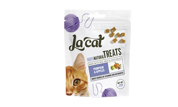 3 9 חבילות חטיפי לה קט לחתולים במבחר טעמים