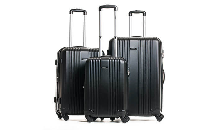 3 סט 3 מזוודות מבית calpak