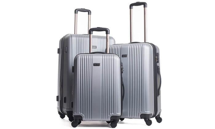 7 סט 3 מזוודות מבית calpak