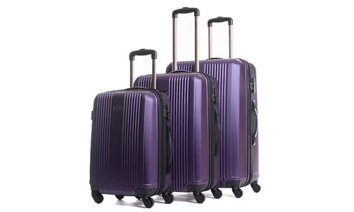 4 סט 3 מזוודות מבית calpak