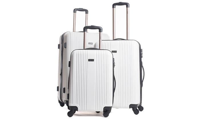 5 סט 3 מזוודות מבית calpak