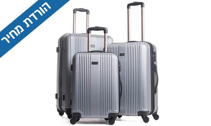 2 סט 3 מזוודות מבית calpak