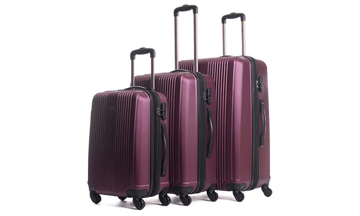 9 סט 3 מזוודות מבית calpak