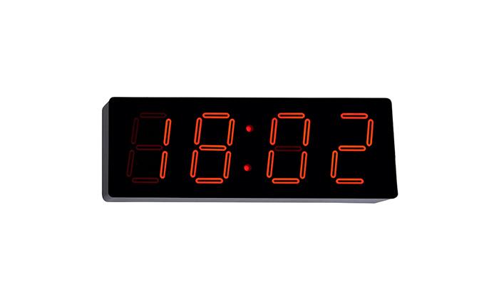 2 שעון קיר דיגיטלי עם תאורת לד - משלוח חינם