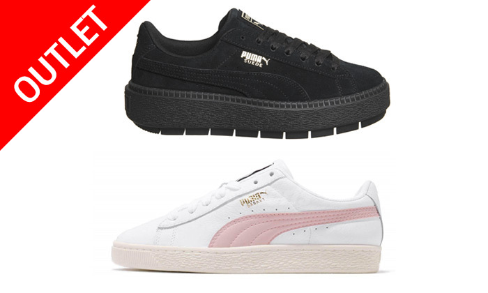 2 נעלי סניקרס פומה לנשים PUMA בדגמים לבחירה
