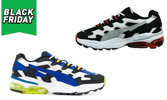 2 נעלי גברים פומה PUMA דגם CELL ALIEN OG