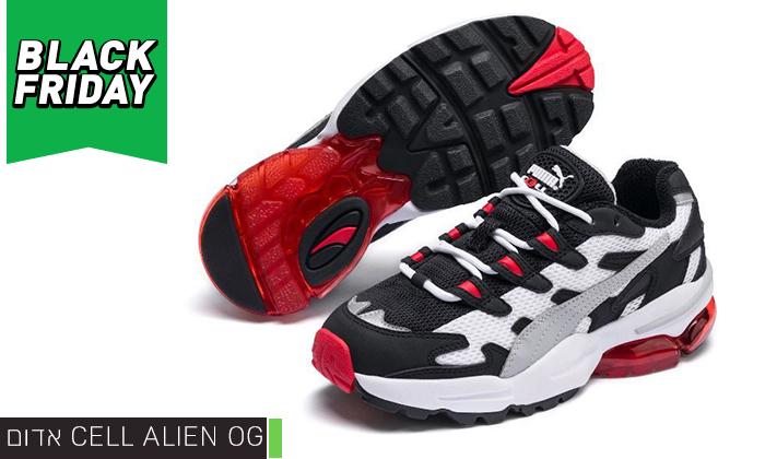 6 נעלי גברים פומה PUMA דגם CELL ALIEN OG