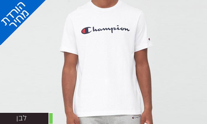 9 1/2 חולצות טי שירט 100% כותנה CHAMPION במבחר דגמים וצבעים