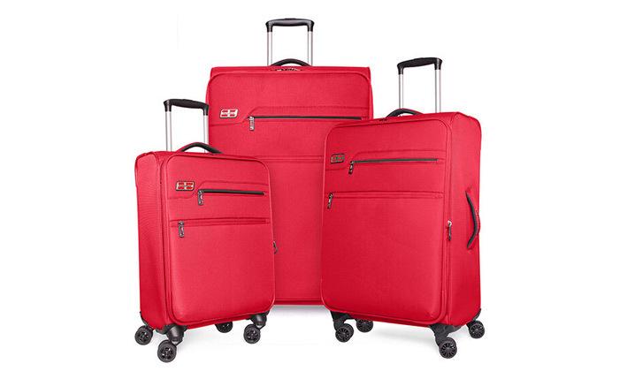 5 סט 3 מזוודות MarcoPolo, דגם DISCOVERY במבחר צבעים