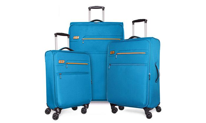 11 סט 3 מזוודות MarcoPolo, דגם DISCOVERY במבחר צבעים