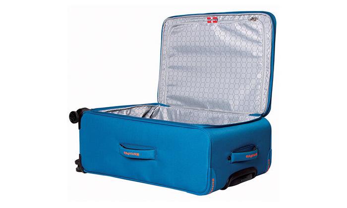 7 סט 3 מזוודות MarcoPolo, דגם DISCOVERY במבחר צבעים