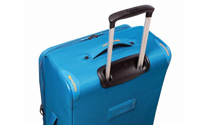 8 סט 3 מזוודות MarcoPolo, דגם DISCOVERY במבחר צבעים