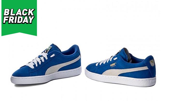 4 נעלי סניקרס פומה לנשים PUMA דגםSUEDE C