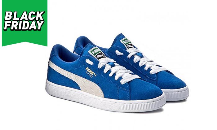 2 נעלי סניקרס פומה לנשים PUMA דגםSUEDE C