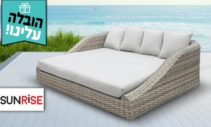 2 מיטת רביצה Sunrise דגם סנטוריני