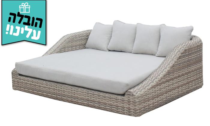 4 מיטת רביצה Sunrise דגם סנטוריני
