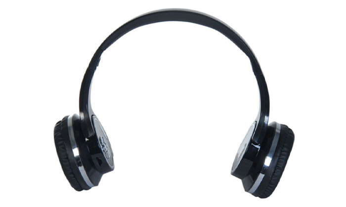 5 אוזניות קשת אלחוטיות שהופכות לרמקולים, בשלושה צבעים לבחירה