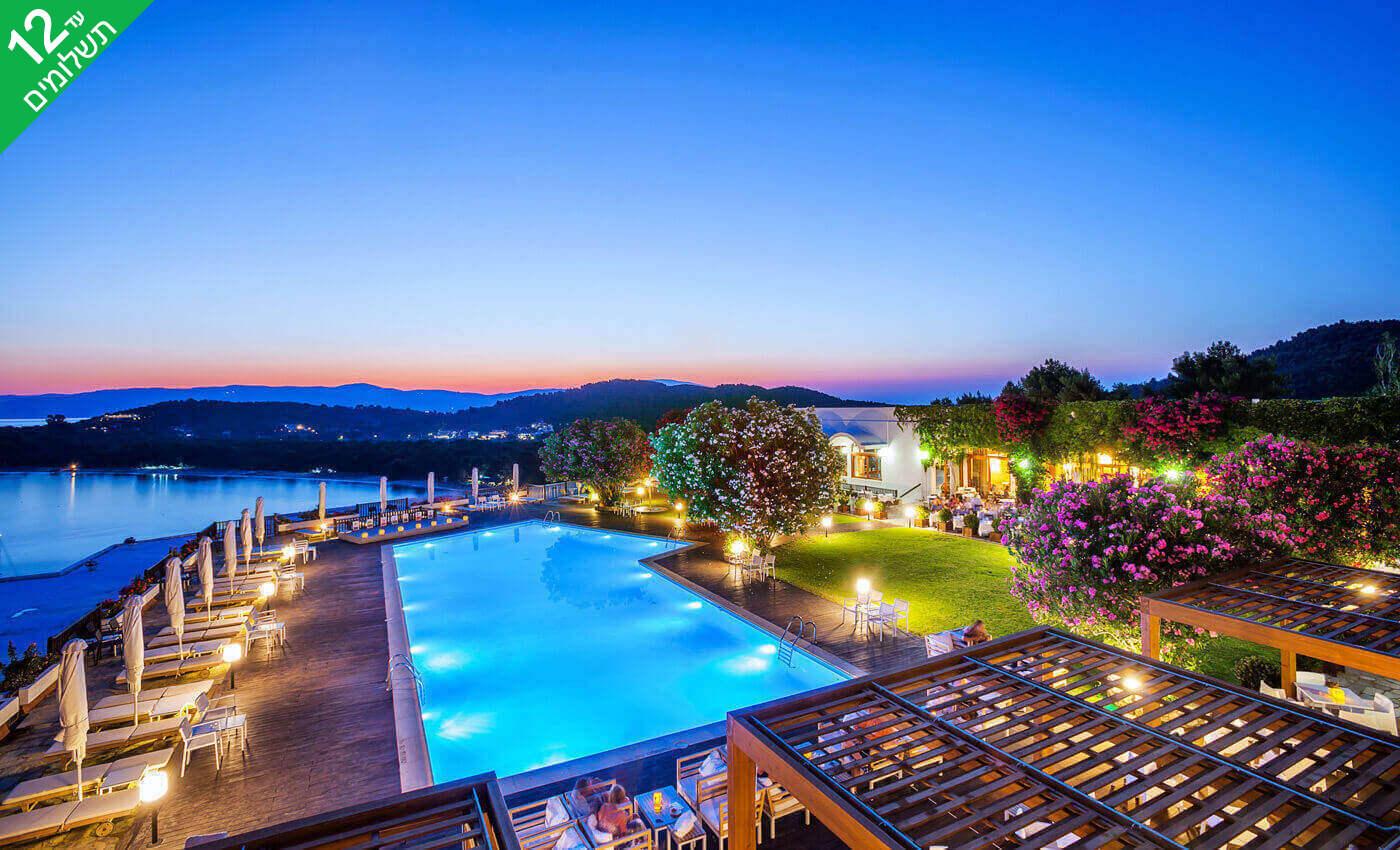 """6 חופשת קיץ באי היווני סקיאתוס, כולל סופ""""ש"""