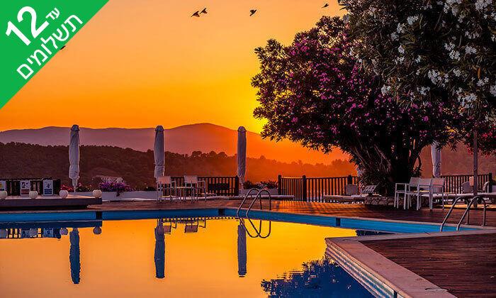 """8 חופשת קיץ באי היווני סקיאתוס, כולל סופ""""ש"""