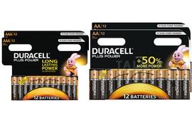 48 סוללות דורסל AA/AAA לבחירה