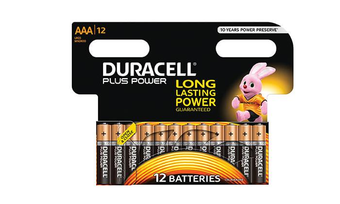 4 מארז 48 סוללות דורסל AA / AAA לבחירה