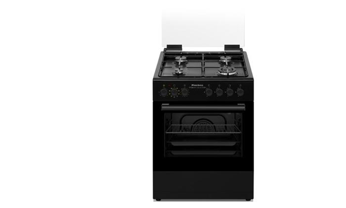"""3 תנור משולב כיריים גז 60 ס""""מ Peerless פירלס במגוון צבעים לבחירה"""