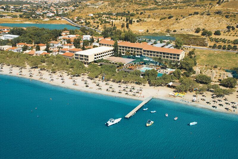 3 4/5 לילות באי היווני סאמוס, מלון 5 כוכבים עם חוף פרטי