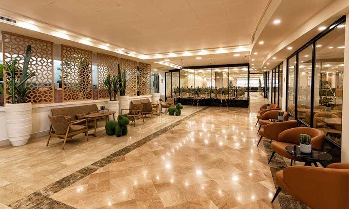 8 חופשה עם ארוחת בוקר במלון פאלמס אילת