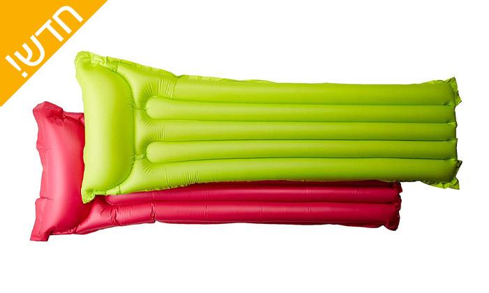 3 זוג מזרני ים אינטקס - INTEX במבחר צבעים