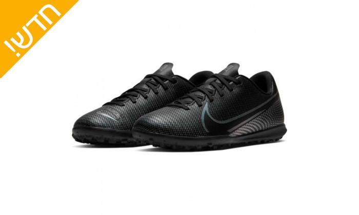 2 נעלי כדורגל לילדים נייקי NIKE דגם MERCURIAL VAPOR 13