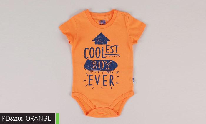 3 3/6 בגדי גוף לתינוקות 100% כותנה KEDS
