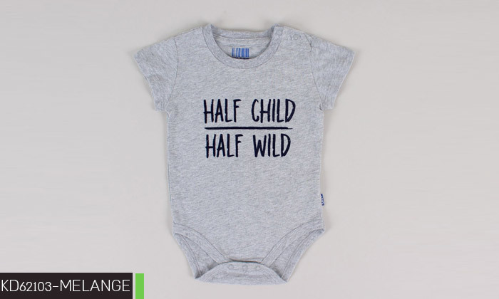 7 3/6 בגדי גוף לתינוקות 100% כותנה KEDS