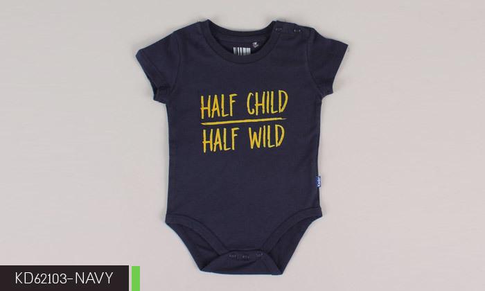 8 3/6 בגדי גוף לתינוקות 100% כותנה KEDS