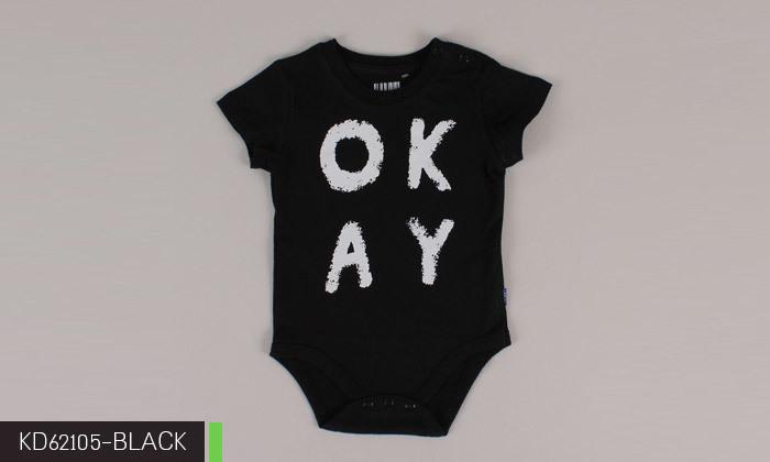 11 3/6 בגדי גוף לתינוקות 100% כותנה KEDS