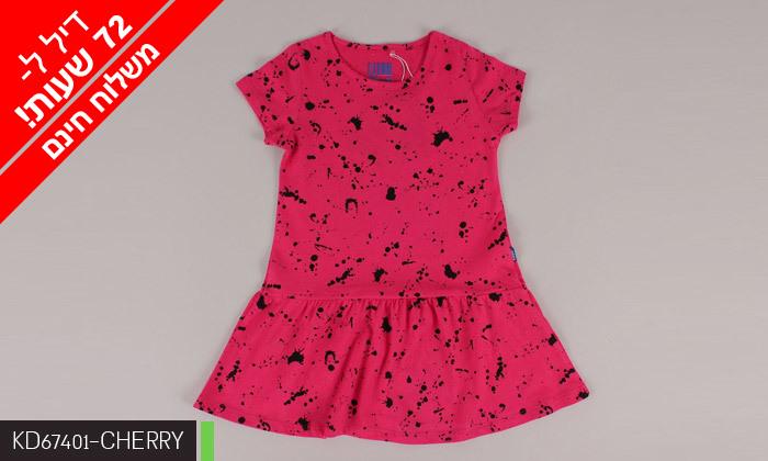 3 דיל לזמן מוגבל: 3/5 שמלות לילדות 100% כותנה KEDS - משלוח חינם